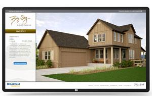 Interactive Sales Center Display