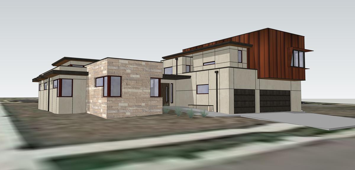 3d Modeling Alaska House