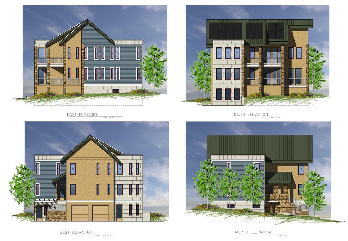 Architectural 2d Elevations Viz Graphics