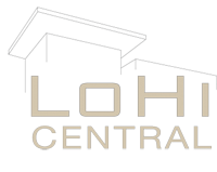 LoHi Central Logo Design