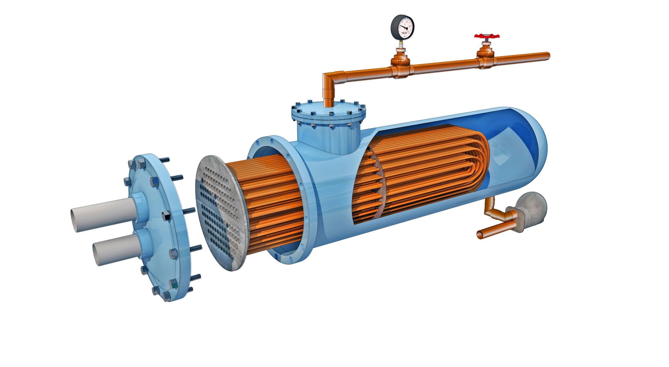 Heat Exchanger Steam To Hot Water