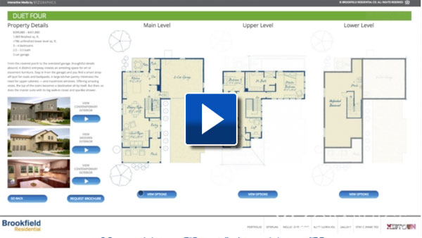 Interactive Floor Plans Viz Graphics
