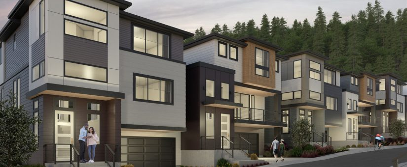 Intracorp Homes – Exterior Renders